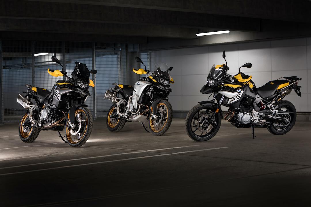 BMW presentó una edición aniversario de tres modelos GS
