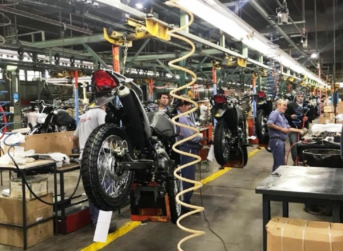 El patentamiento de motos registró un descenso del 3,94%