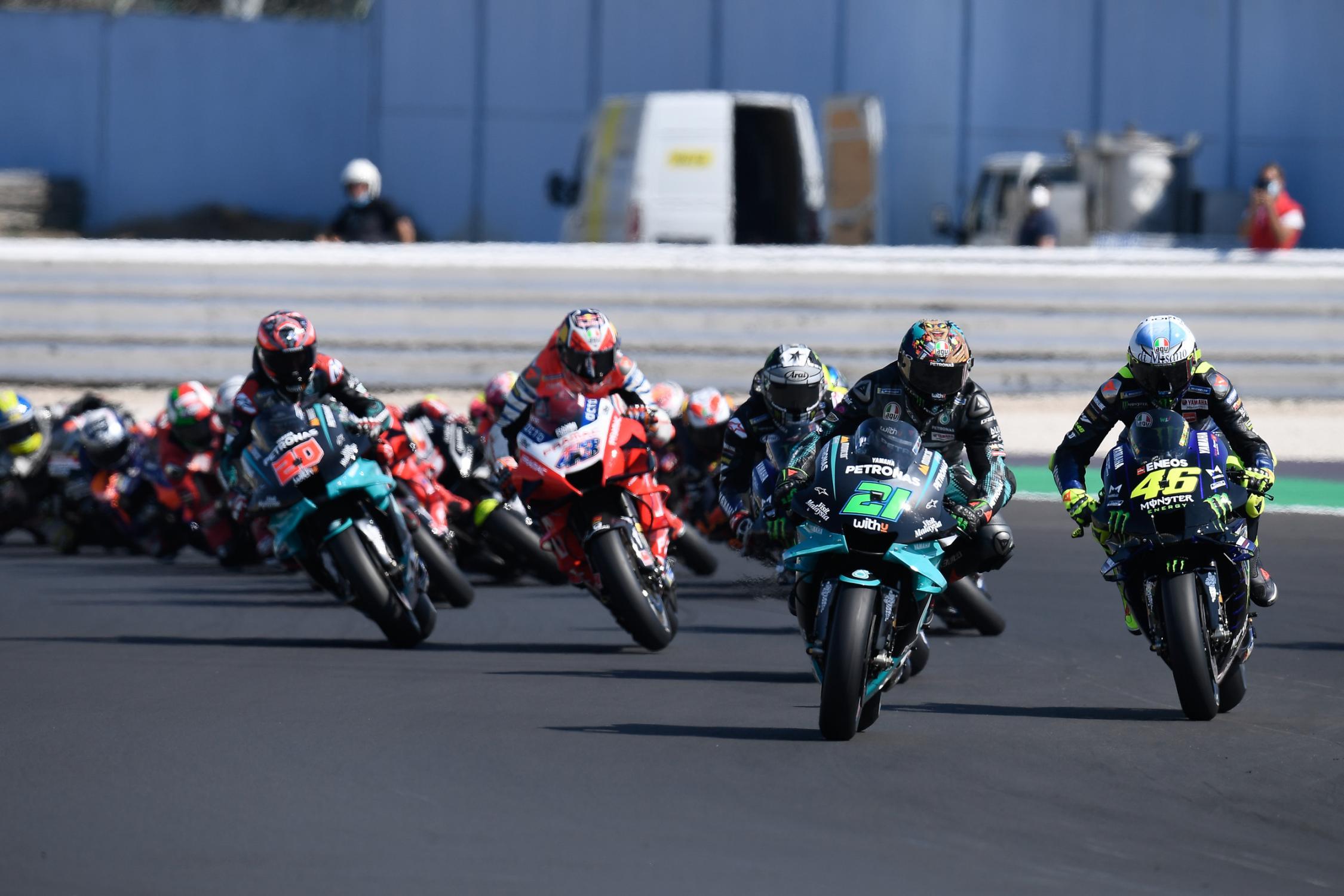 Franco Morbidelli se quedó con el Gran Premio de Misano