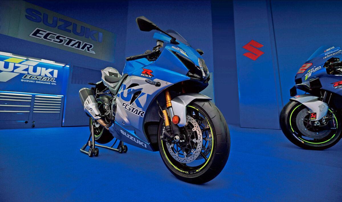 Suzuki GSX-R1000 R edición 100° aniversario