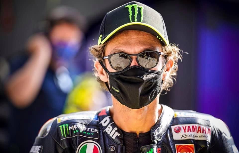 Valentino Rossi dio positivo de Covid-19 y se perderá el GP de Aragón
