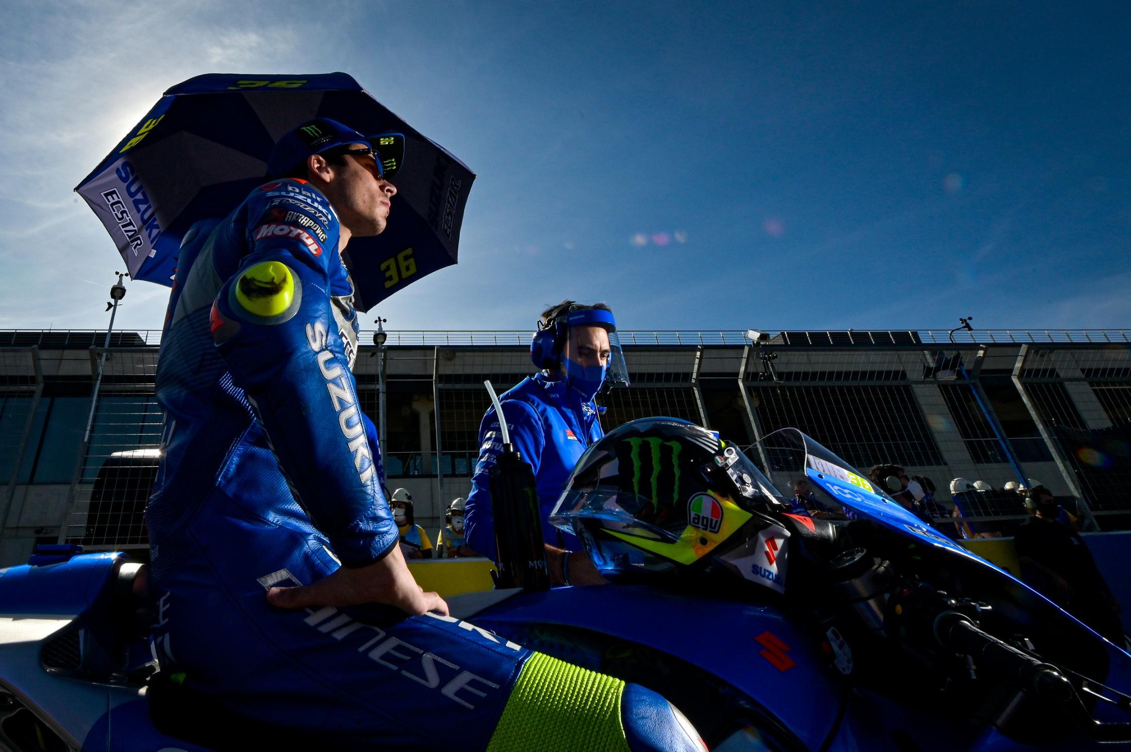 """MotoGP: Mir lidera el campeonato pero se mostró """"decepcionado"""" por la carrera en Aragón"""