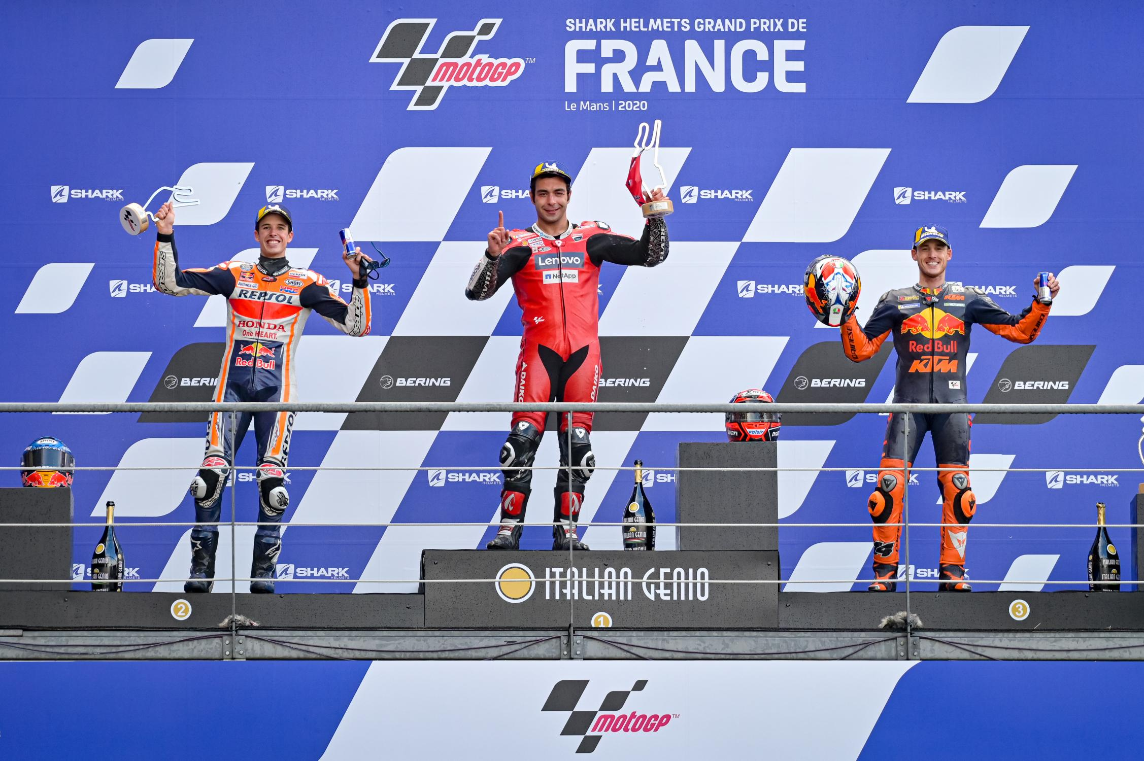 Danilo Petrucci se quedó con el triunfo en Le Mans