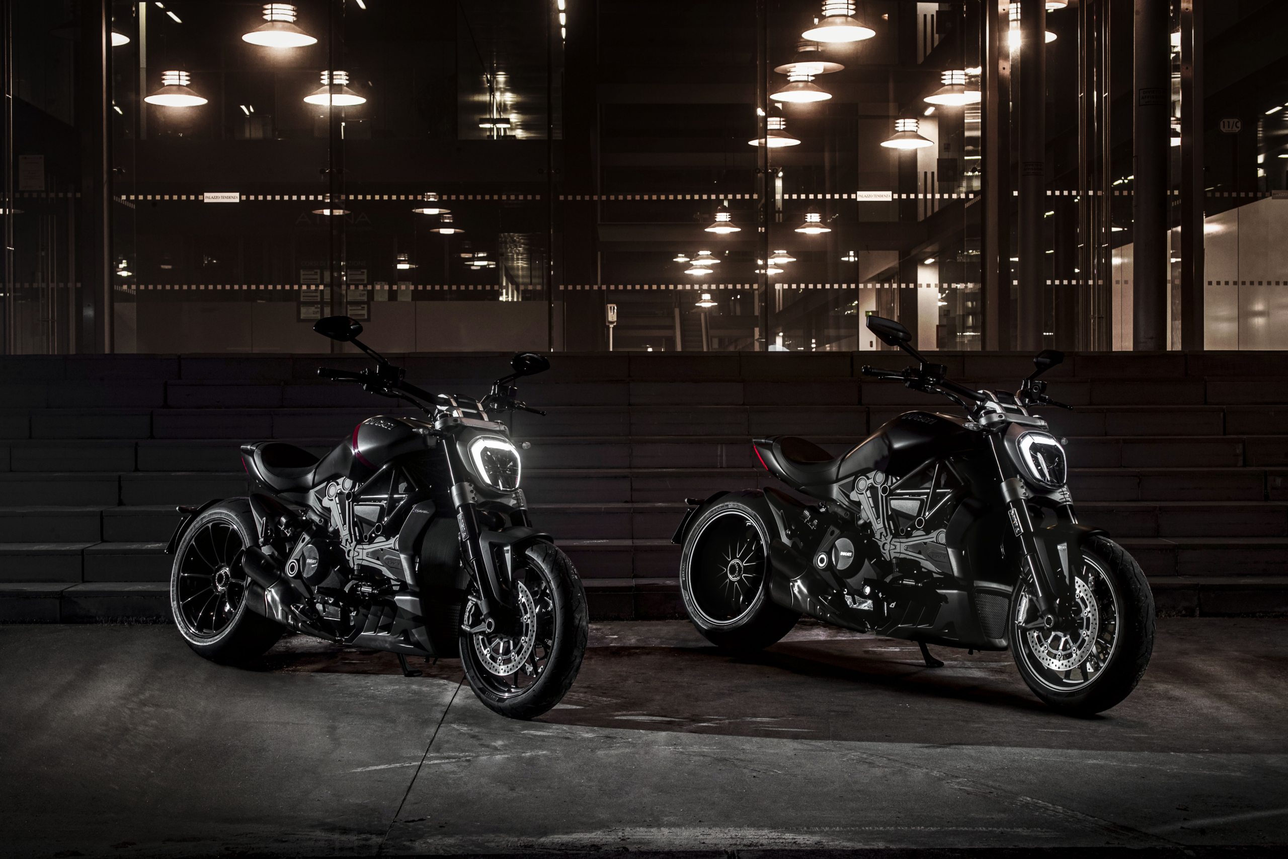 XDiavel Black Star and XDiavel Dark