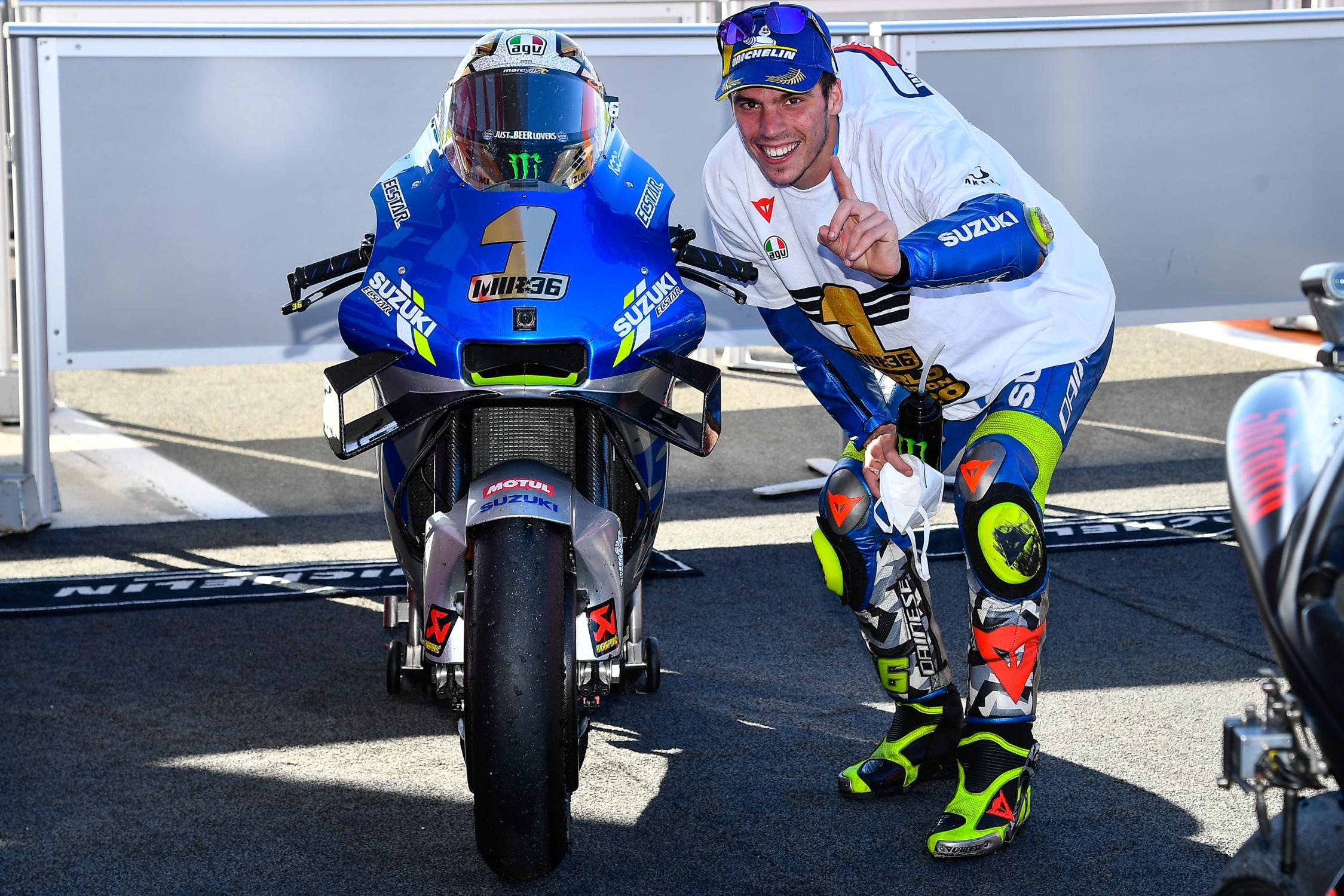 Joan Mir se coronó campeón de MotoGP