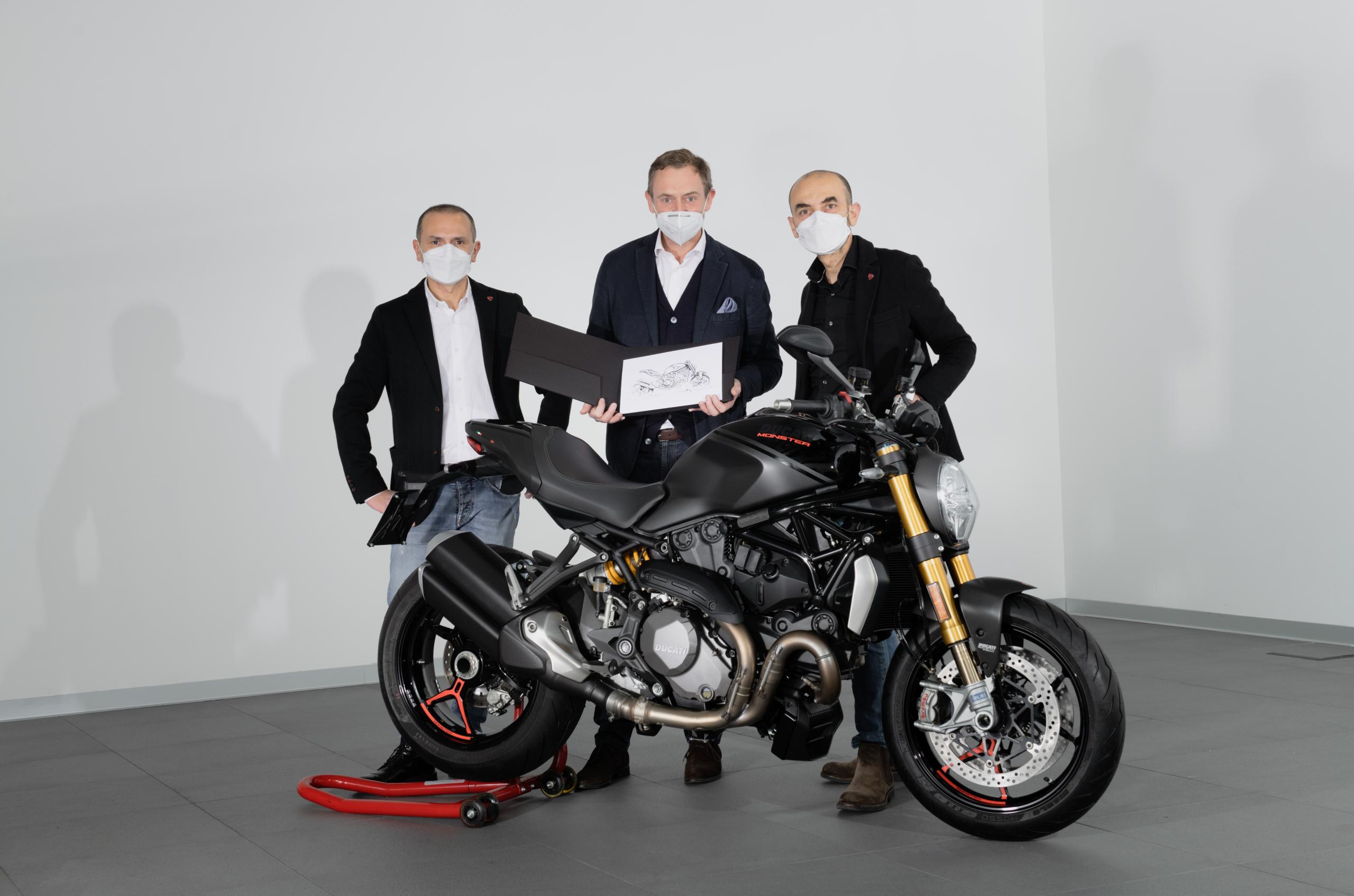 Ducati entregó el ejemplar 350.000 de la familia Monster