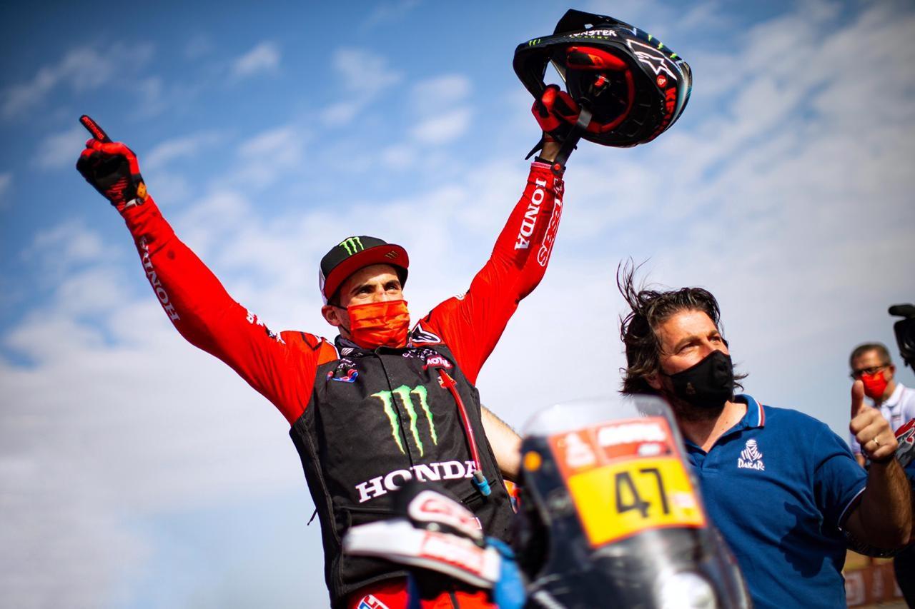 Kevin Benavides se consagró campeón del Rally Dakar 2021
