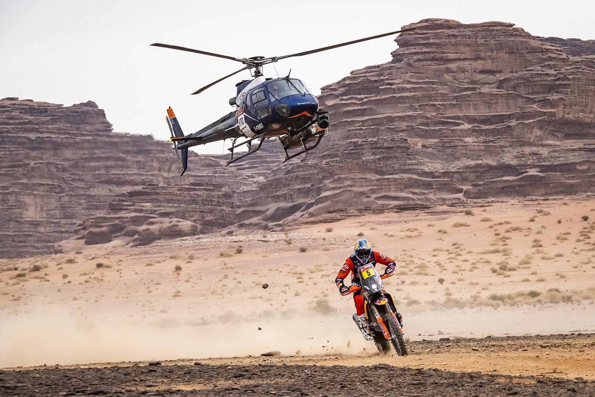 Rally Dakar: Sam Sunderland ajusta los tiempos y se queda con la penúltima etapa