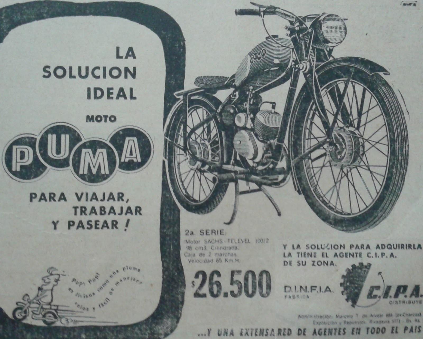 Catálogo moto Puma