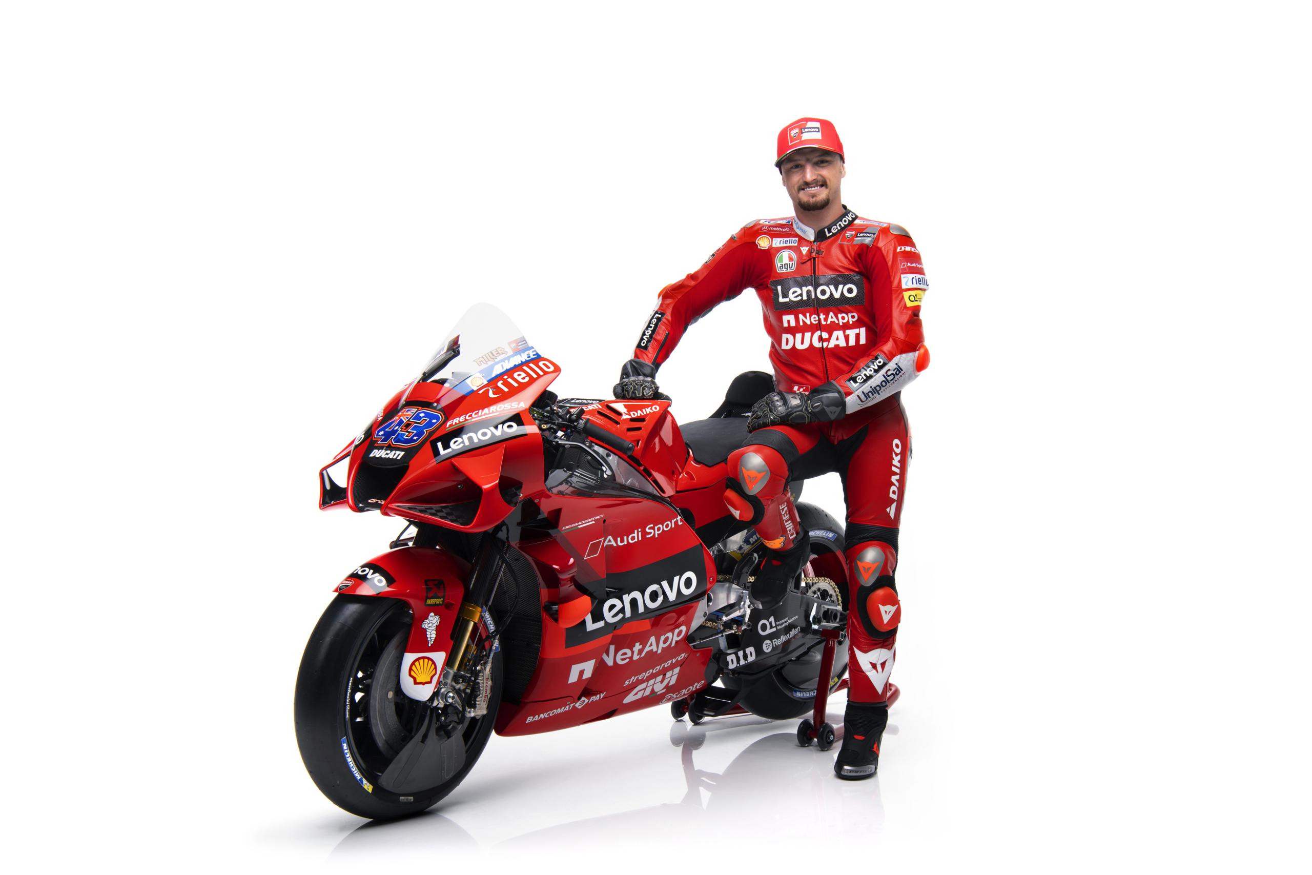 Ducati presentó la Desmosedici GP 2021 de Jack Miller y Pecco Bagnaia