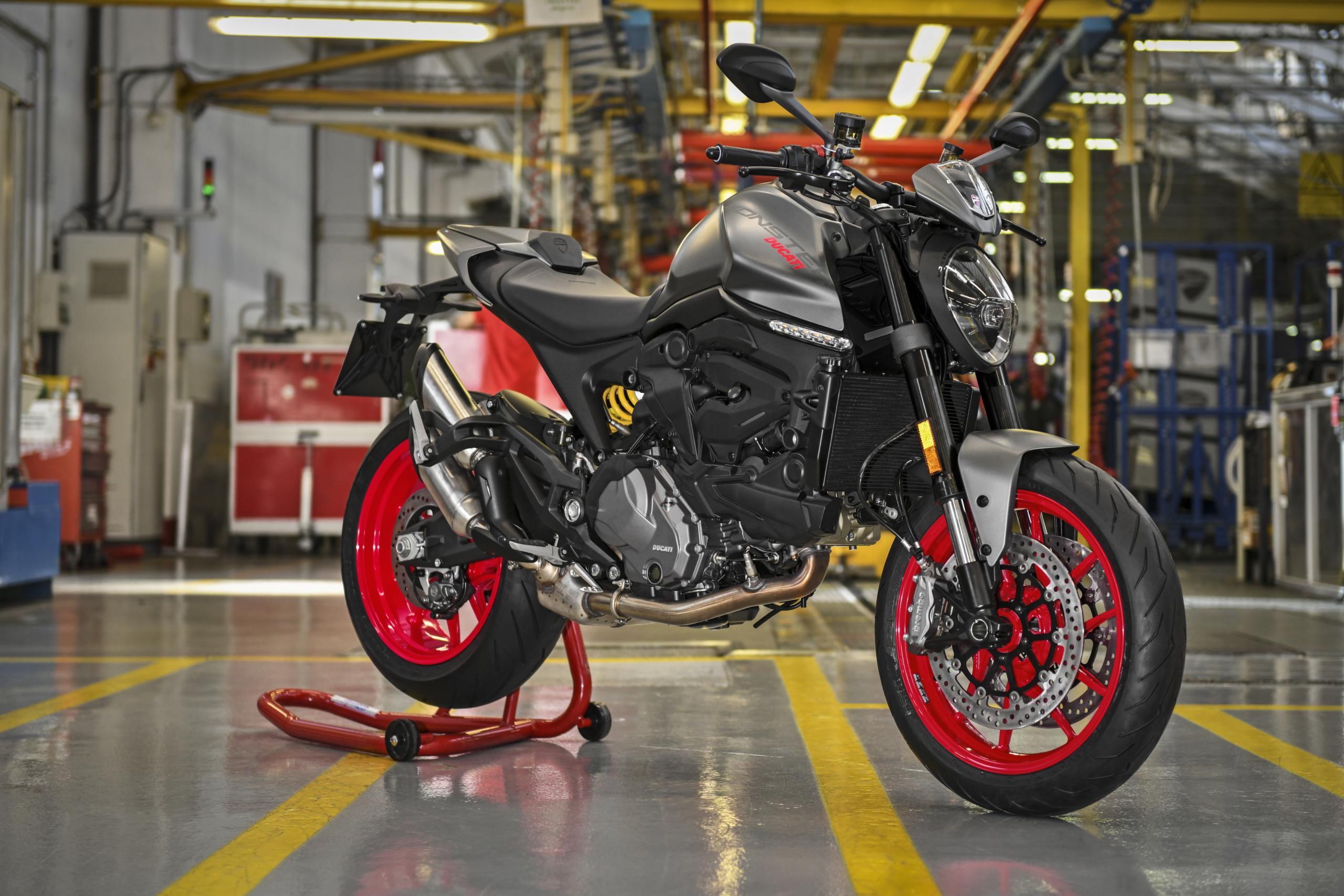 Comenzó con la producción de la nueva Ducati Monster 2021