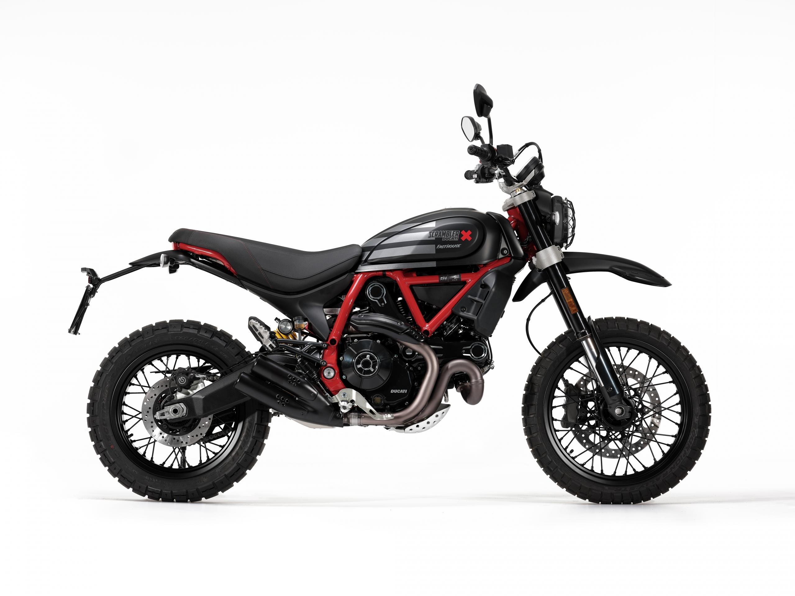 Ducati Desert Sled Fasthouse: una nueva Scrambler de edición limitada