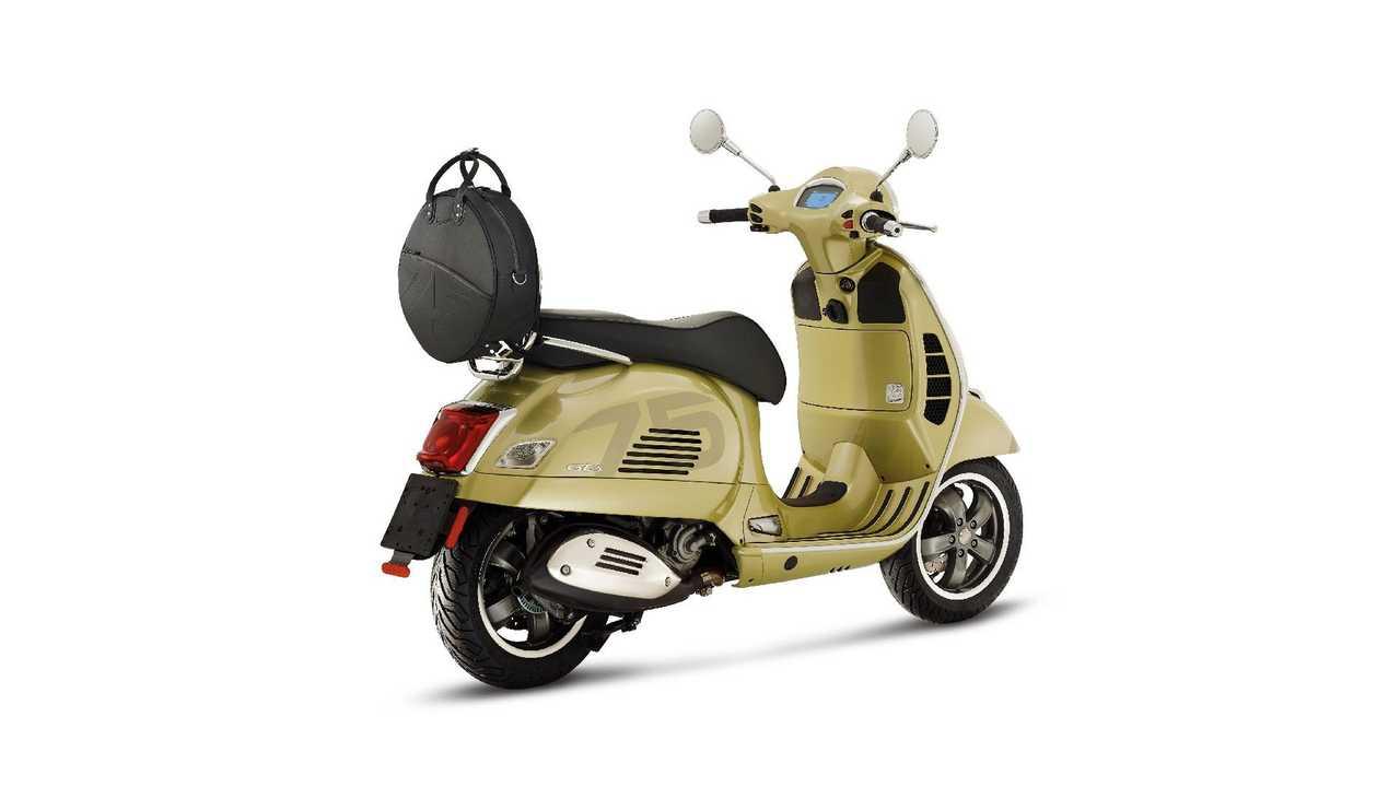 Vespa 75° aniversario: edición especial del mítico scooter