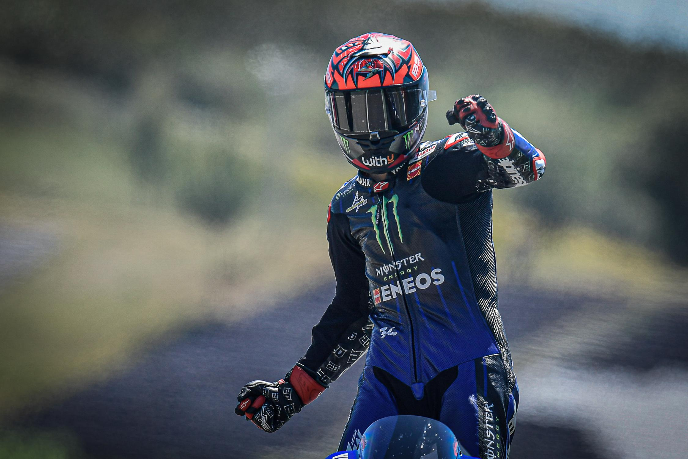 MotoGP: Quartararo se quedó con la victoria en Portimao