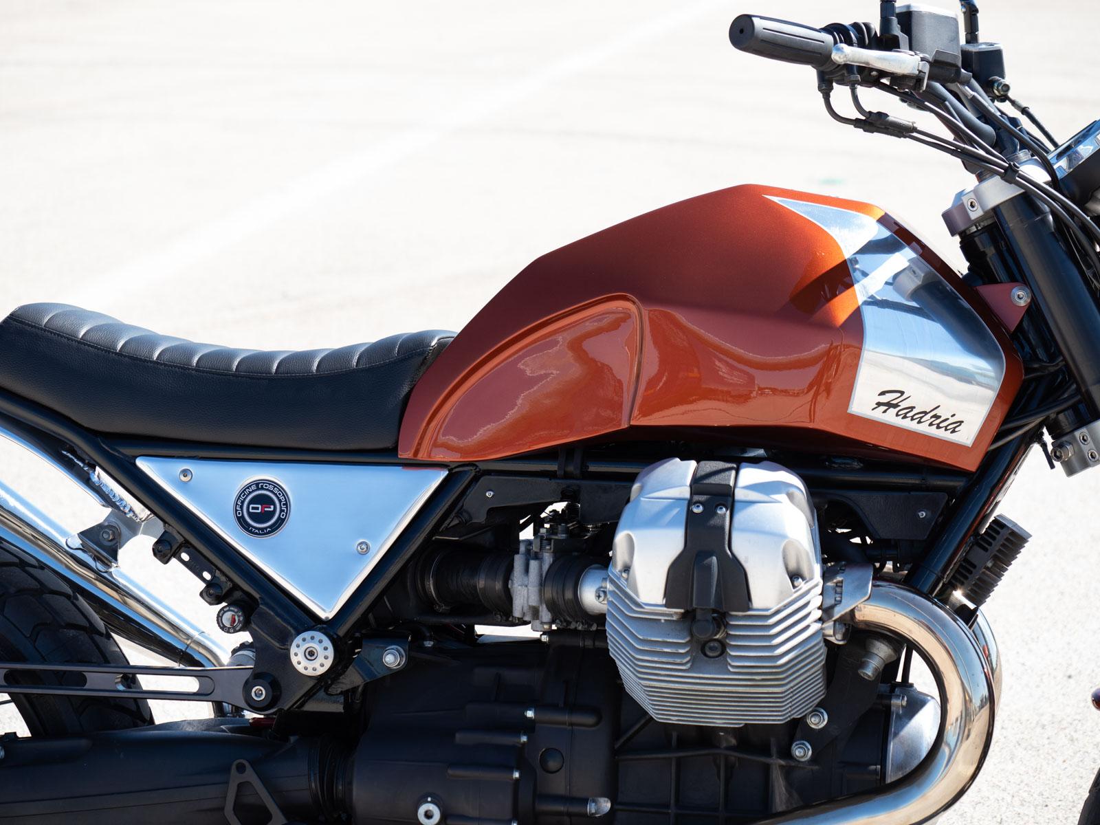 Moto Guzzi Hadria por Officine Rossopuro