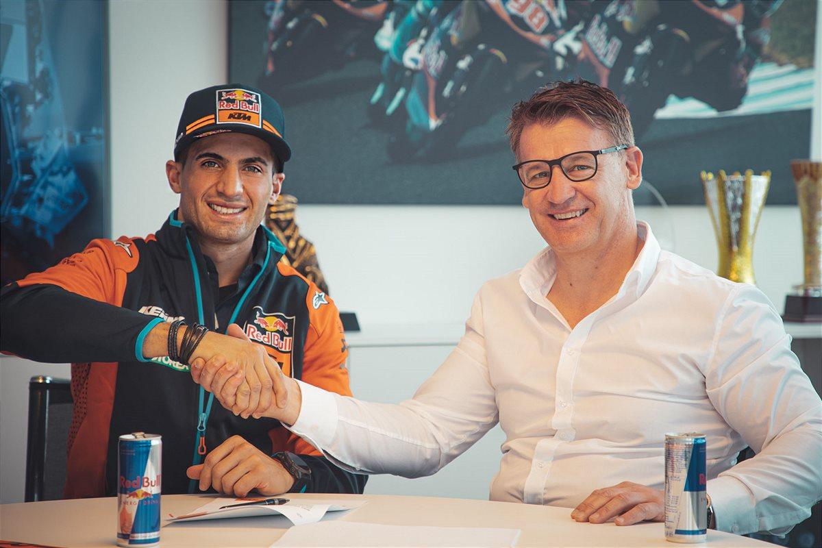 KTM anunció la incorporación del argentino Kevin Benavides