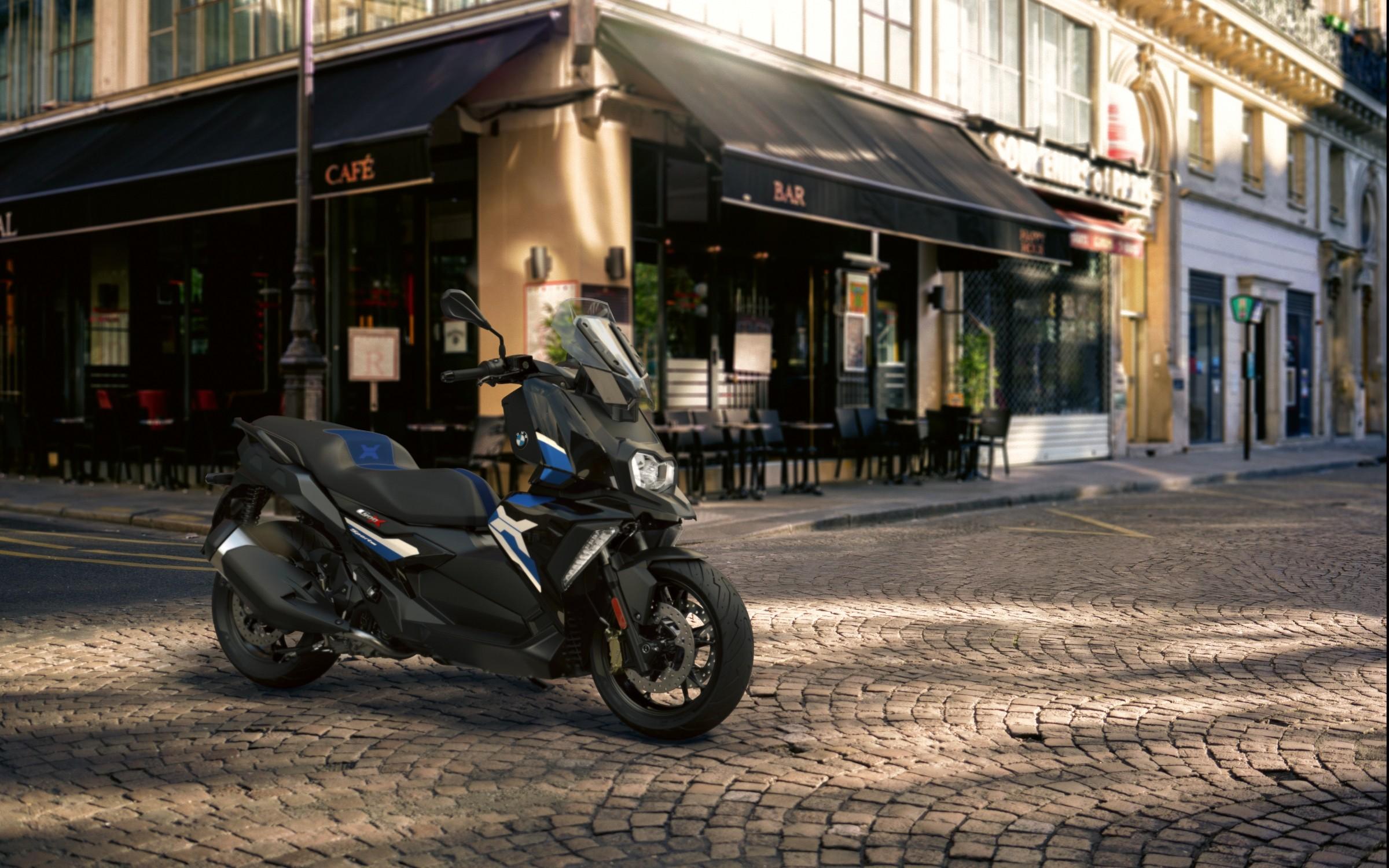 BMW C 400 X y C 400 GT: más tecnología, más confort