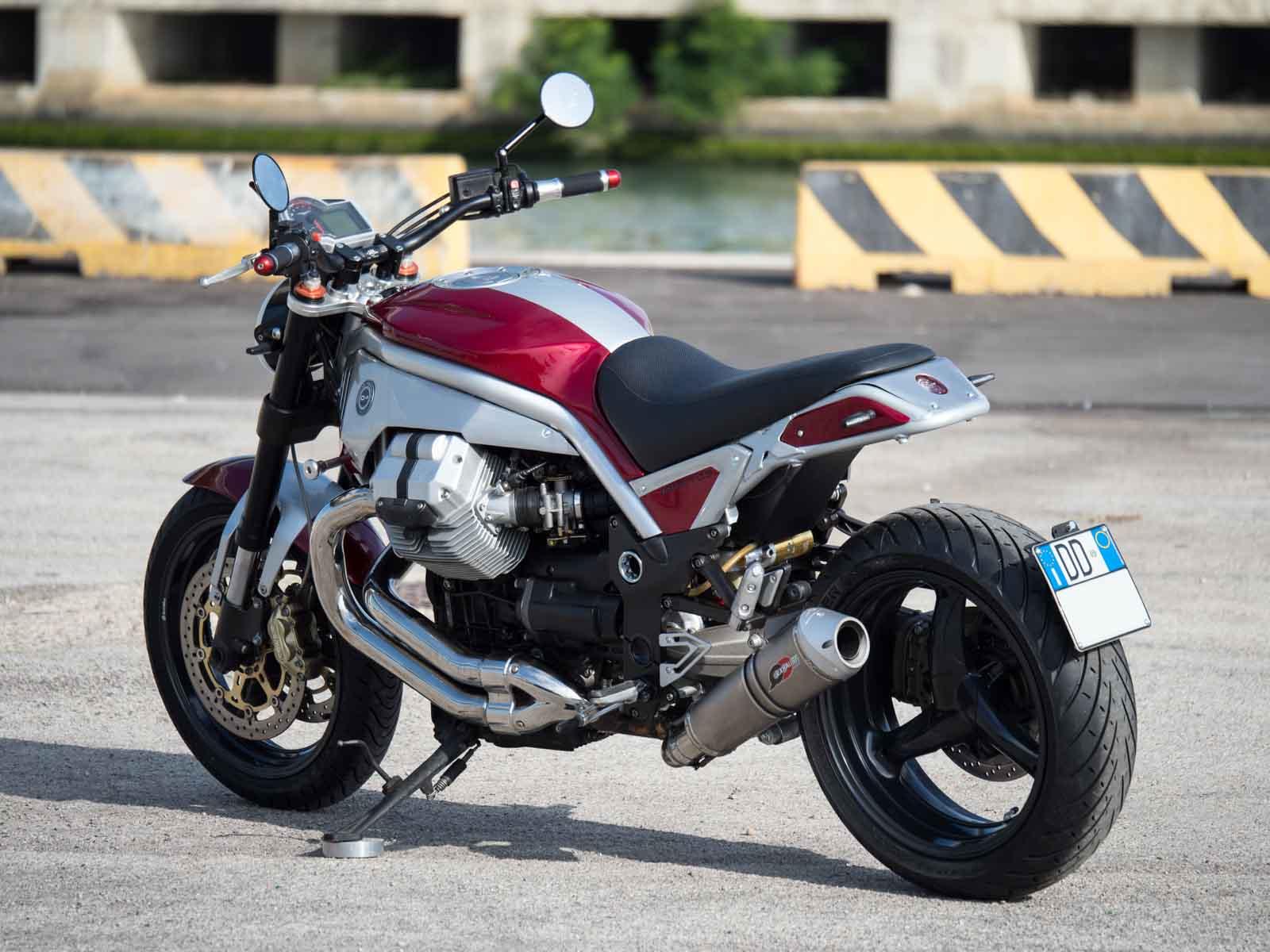 Moto Guzzi Impetus por Officine Rossopuro