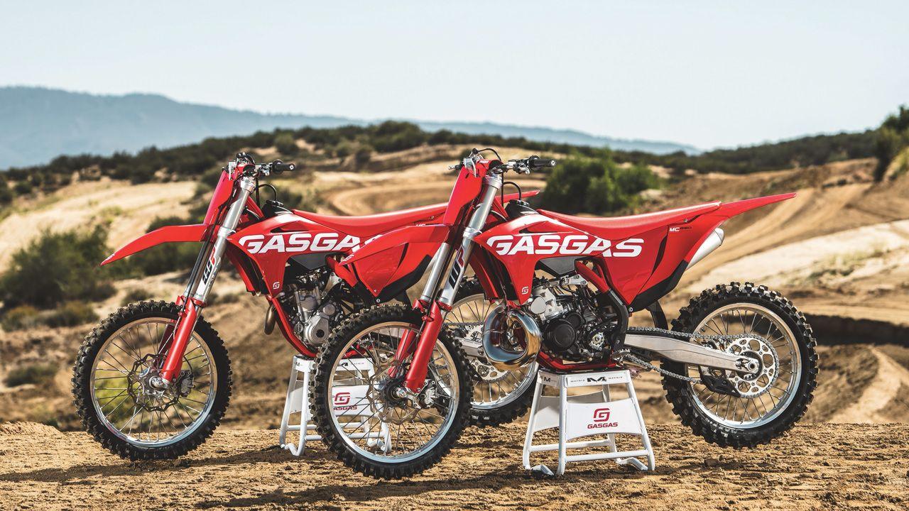 GasGas presentó su nueva gama off road