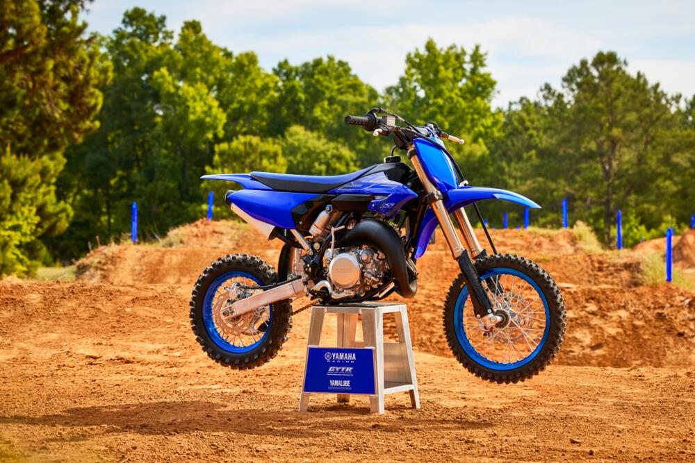 Yamaha YZ motocross 2022: renovación off-road